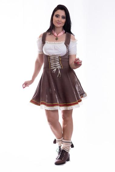 Vestido Oktoberfest (traje Típico Alemão Feminino)