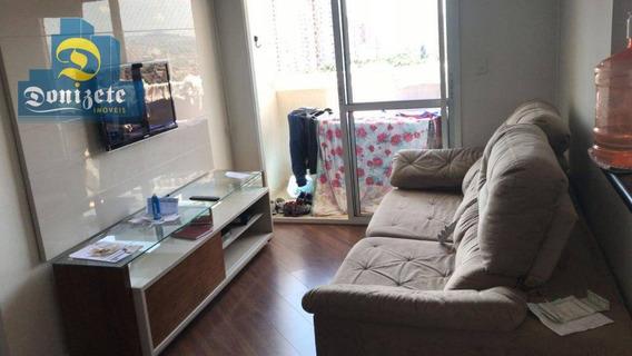 Apartamento Residencial Para Locação, Vila Assunção, Santo André. - Ap8949