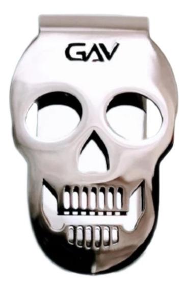 Clip De Dinero Calavera - Skull Money Clip