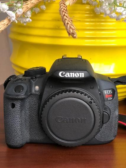Câmera Canon Dslr T5i (corpo)