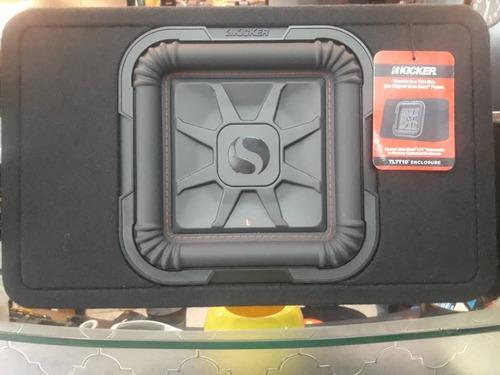 Imagen 1 de 1 de Cajón Con Bajo Plano Kicker Original 12 Pulgadas