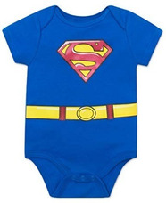 Dc Superman Body Para Bebe Niño 12 Meses Halloween Original 1dbcb5ade48b