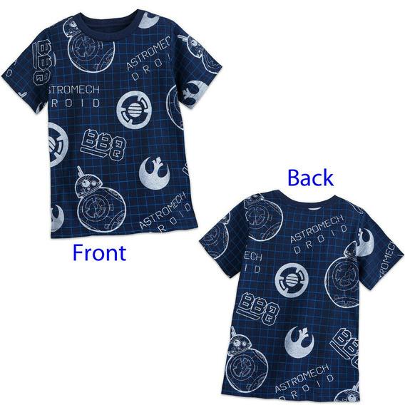 Remera Disney Store Star Wars Talle 10 Y 14 Años C/ Etiqueta