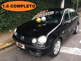 Volkswagen Polo Sedan 1.6 Total Flex / Polo Preto 2005