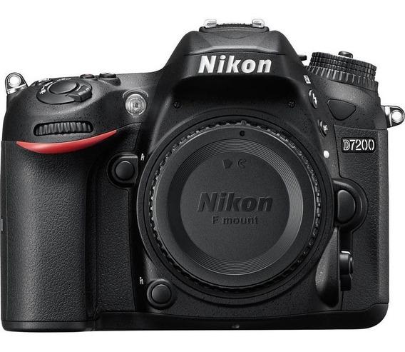 Nikon D7200 Corpo + Grip Meike + Bateria Original + Sedex
