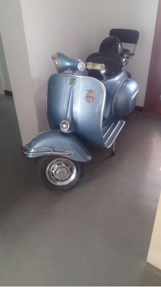 Vespa Piagio Año 1961 Impecables Todos Los Accesorios Orig.