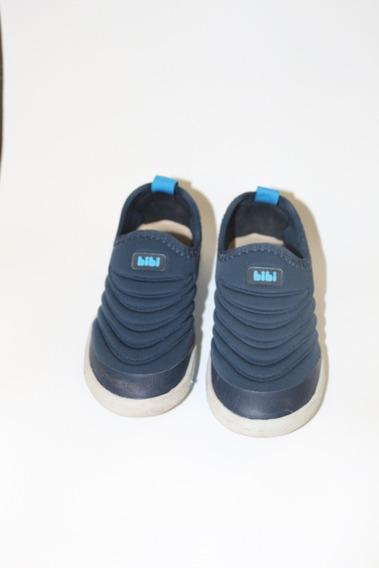 Tênis Bibi Masculino Tamanho 25 Azul Muito Pouco Usado