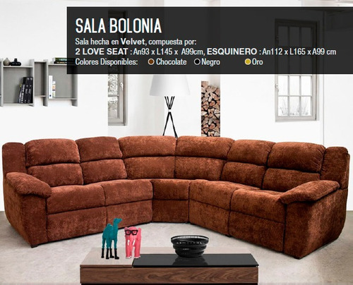Continental Cabecear Cereza  Salas Esquineras Modernas +2 Almohadas+protector %oferton%   Mercado Libre