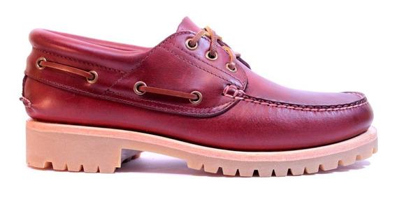 Zapatos Leñadores Hombre Canadienses De Cuero Timberland