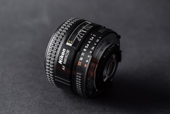 Lente Nikon Af Nikkor 35mm F2d