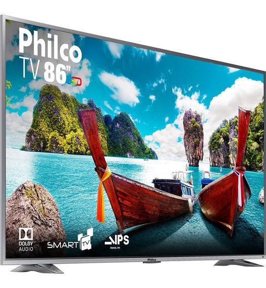 Smart Tv 86 Polegadas 4 K Philco Nova