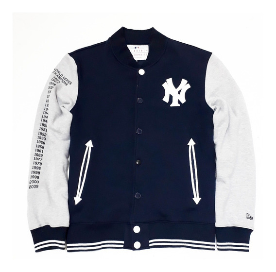 Jaqueta New Era Yankees Ny New York Mlb College Varsity Orig
