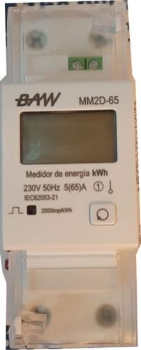 Multimedidor Monofásico Energía Mm2d-65 Reseteable 220v