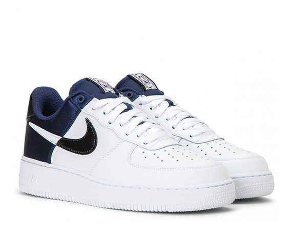 Nike Air Force 1 Nba Midnigt Navy White Hombre