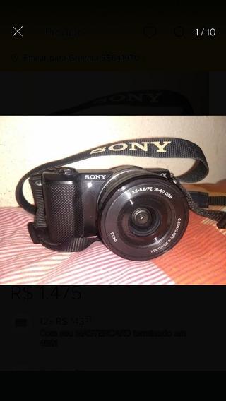 Sony A5000 Lente E Acessórios Perfeito Estado