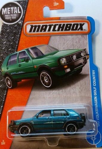 Matchbox '90 Volkswagen Golf Country 2017