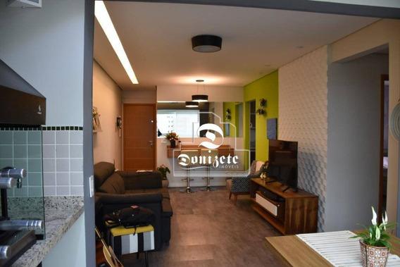 Apartamento Com 2 Dormitórios À Venda, 78 M² Por R$ 548.000,01 - Campestre - Santo André/sp - Ap12108