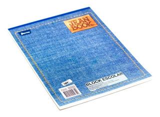 Block Bond Carta Cuadriculado 80h Jean Book 521274 Norma