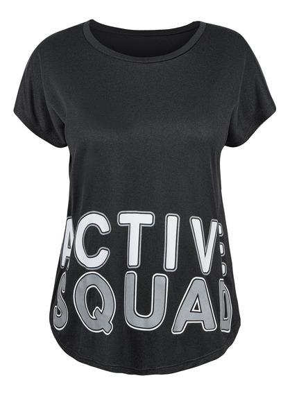 Playera T-shirt Mujer Runing Training Comoda
