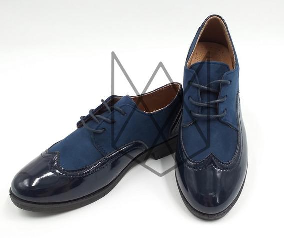 Zapato Charol Tipo Oxford // Moda2019