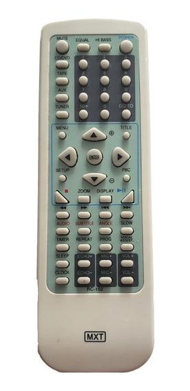 Controle Dvd Cce Rc102 Micro Sistem C/ Dvd Adv650 C0825