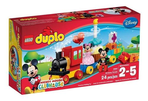 Lego Duplo Disney Mickey Clubhouse Y Minnie Cumpleaños 24pcs