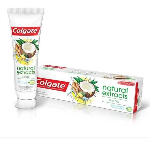 Creme Dental Colgate Natural Extracts Detox 90g