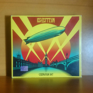 Led Zeppelin Celebration Day Deluxe 2cd Dvd Original Nuevo