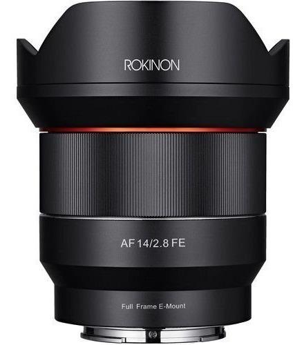 Lente Rokinon Af 14mm F/2.8 Fe Sony E-mount