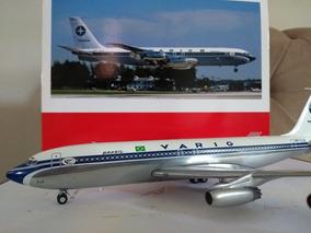 Miniatura Boeing 707 Varig 1:200 Herpa