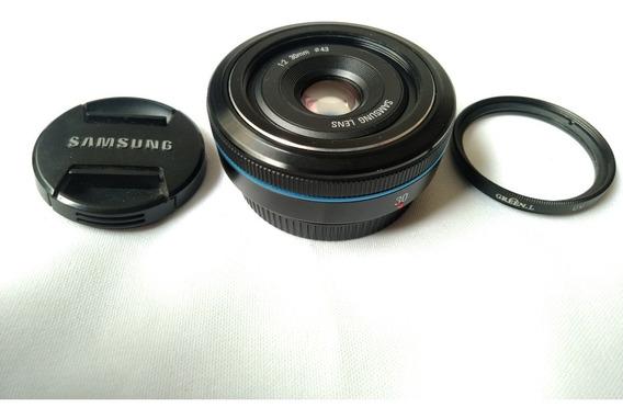 Lente 30mm Samsung