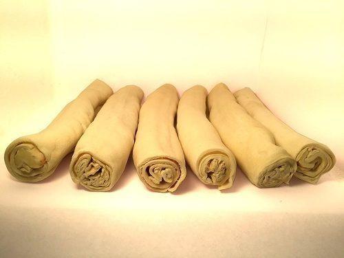 Cuero Crudo Retriever Rollo A Granel - 100% Natural Cuero Cr