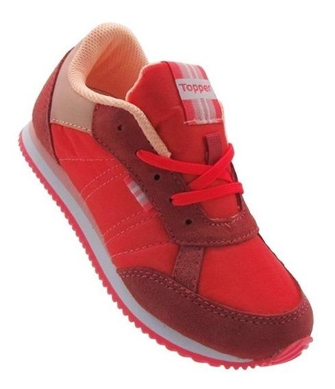 Zapatillas Topper Niña Rosas 29799 Theo Kids