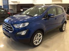 Ford Ecosport Titanium 1.5 0 Km Azul Linea 2018 Entrega Inm.