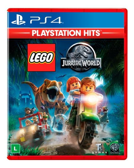 Lego Jurassic World - Ps4 - Novo - Lacrado Edição Hits
