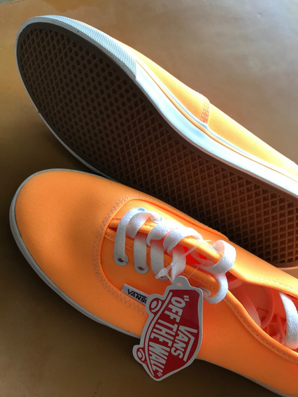 Tênis Vans Authentic Classic Laranja Original - Unisex