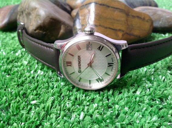 Hermoso Reloj Wenger De Cuarzo