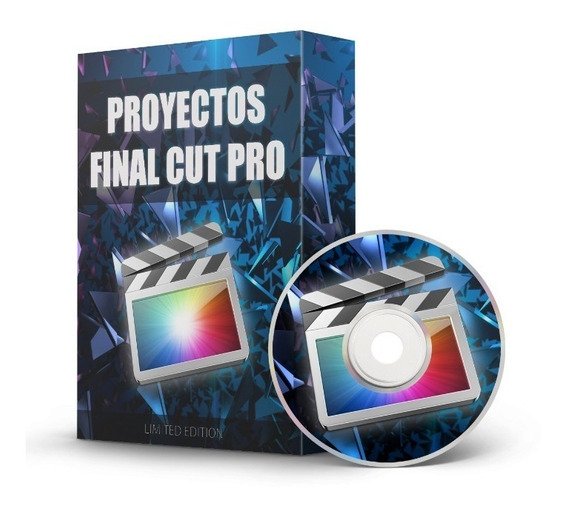 Proyectos Final Cut Pro Y Apple Motion Pack X170 Full Hd 4k