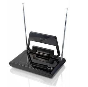 Antena Philips Digital Interna Para Smart Tv Hdtv Uhf Vhf Fm