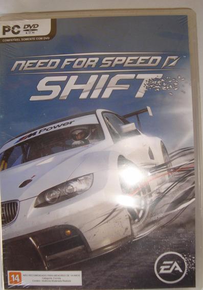 Pc Need For Speed Shift - Novo - Original - Lacrado