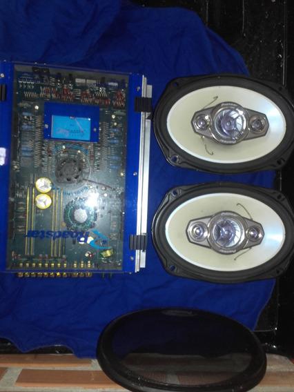 Modulo Roadstar Cooling Fan + Alto Falantes Pioneer 6x9 260w