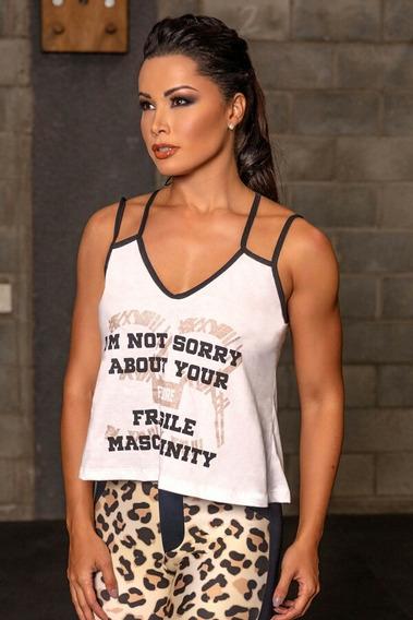 Blusa, Camiseta Fitness Hipkini Woman Power 2019