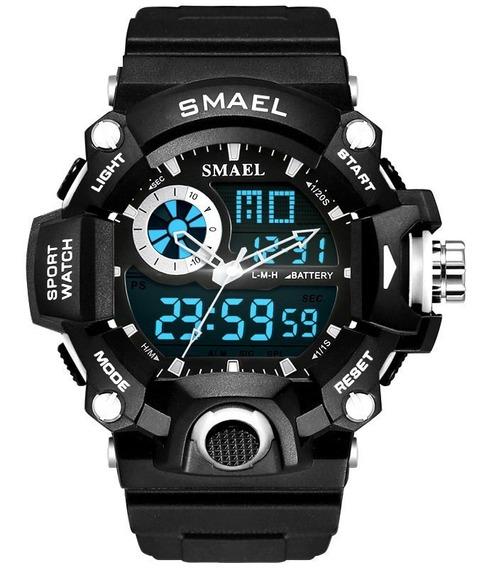 Relógio Masculino Smael Esportivo Digital À Prova D