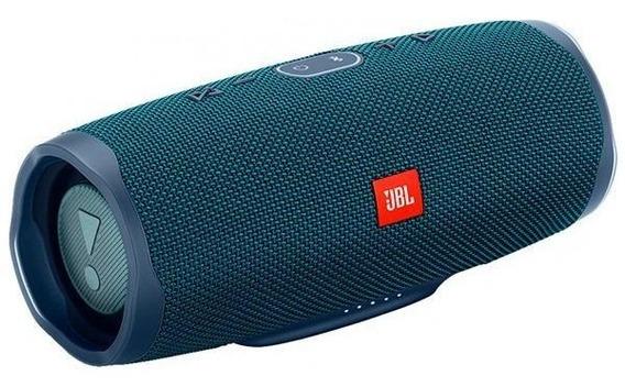 Speaker Jbl Charge 4 Com Bluetooth/auxiliar/usb E Bateria 7.