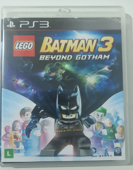 Lego Batman 3 - Ps3 - Midia Fisica Original