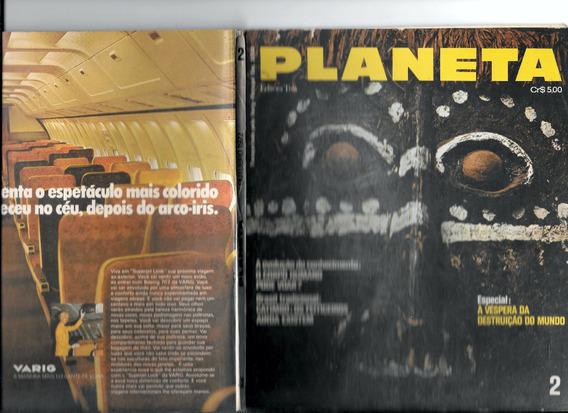 Luc025 Revista Planeta Nº 2 - Editora 3 - Outubro 1972