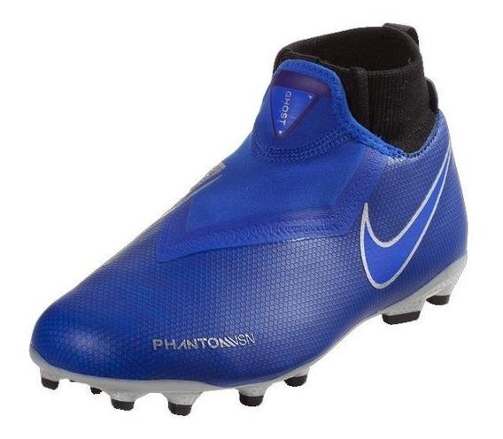 Botines Nike Phntom Vsn Academy Df Fg/mg Niños Ao3287-400
