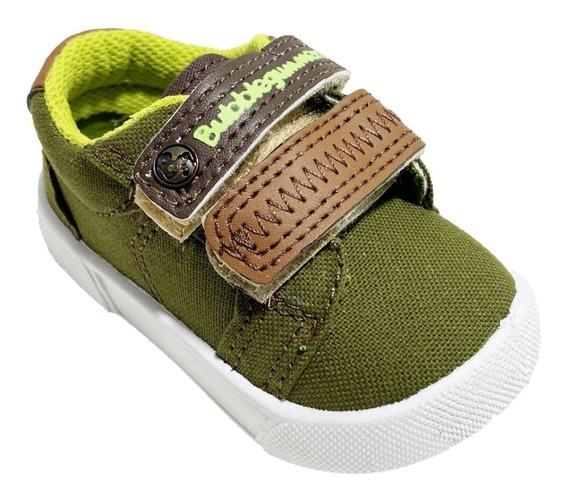 Zapato Tenis Para Niño Con Velcro Bubble Gummers Johny