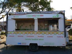 Trailer De Lanche/food Truck Completo