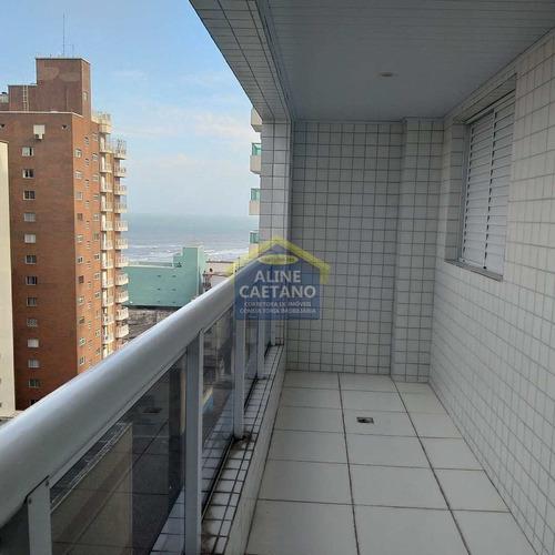 Ultima Unidade Com 1 Dormitório E Vista Na Quadra Do Mar - Vlct0116